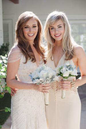 Champagne Bridesmaids Dress