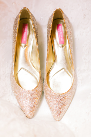 Champagne Sparkle Shoes