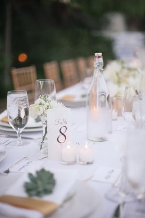 Chic Modern Wedding Table