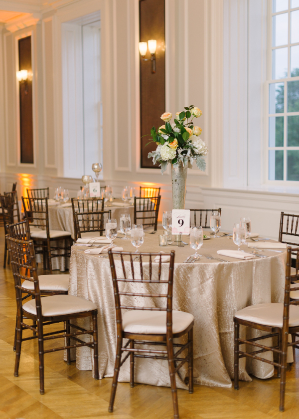 Classic Ballroom Reception Decor
