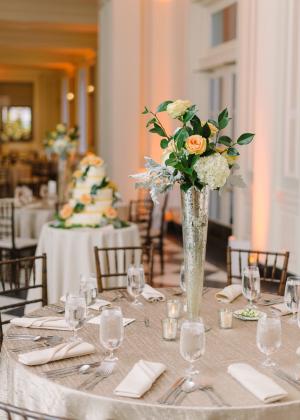 Classic Elegant Reception Ideas