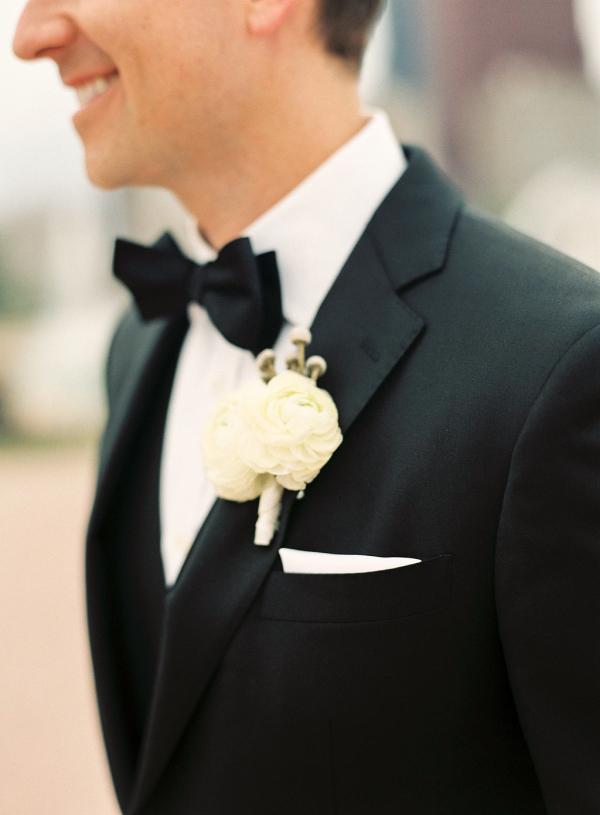 Classic Tuxedo Groom