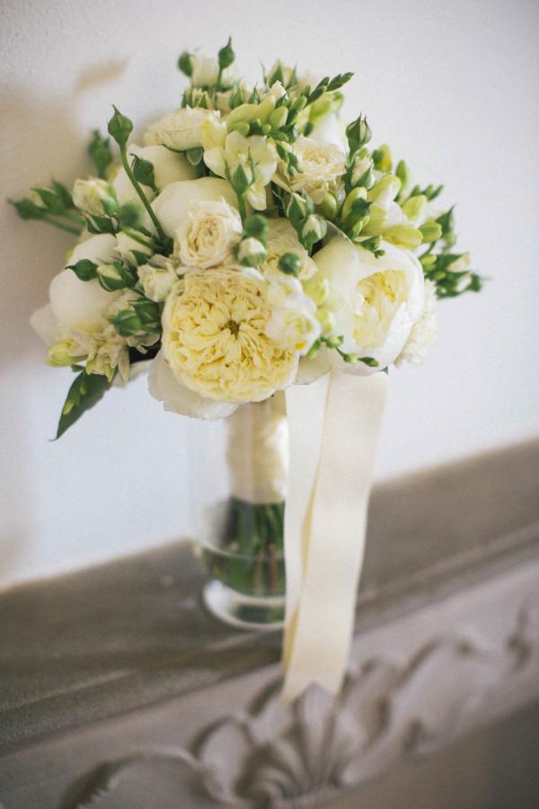 Cream Peony Bouquet1