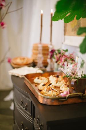 Dessert Display with Tarts