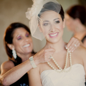 Double Strand Pearl Necklace Bridal Jewelry