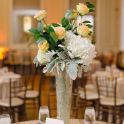 Elegant Florals Reception Decor