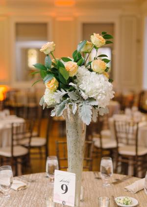 Elegant Florals Reception Decor