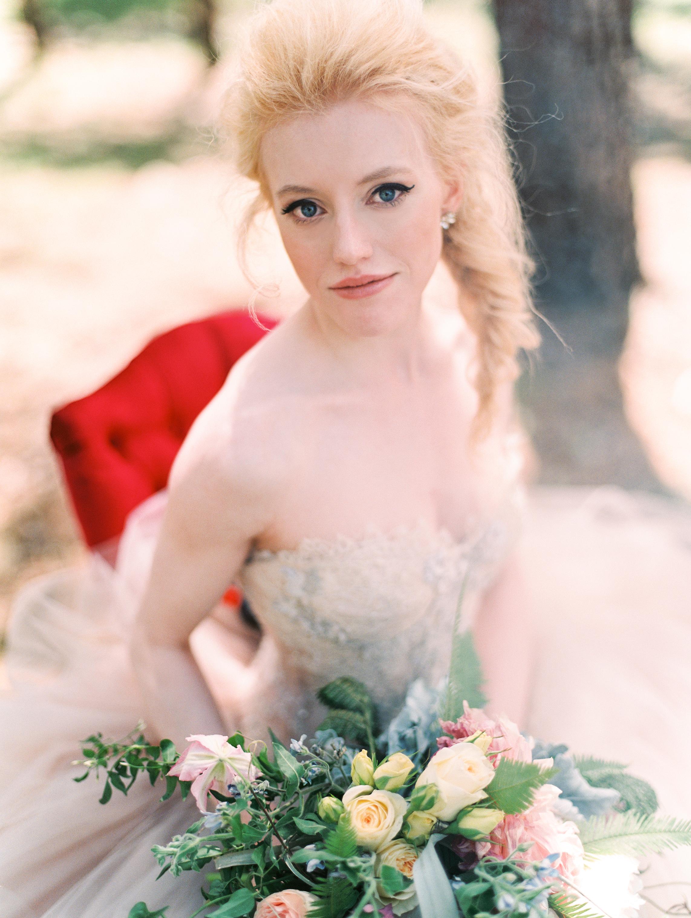 Elegant Mountain Bride
