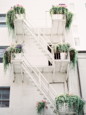 Fire Escape in New Orleans