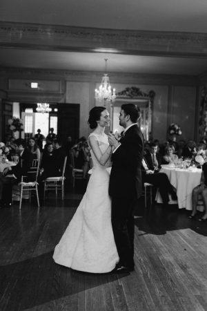 First Dance Country Club Wedding