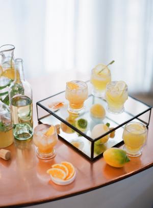 Ginger and Lemon Cocktails