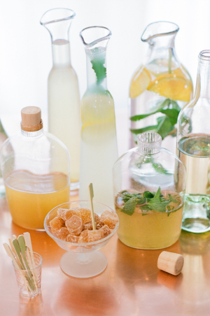 Ginger and Mint Cocktails