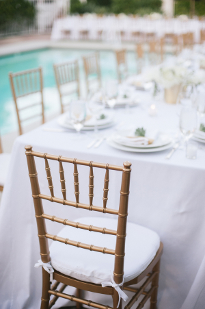 Gold Chairs for Reception