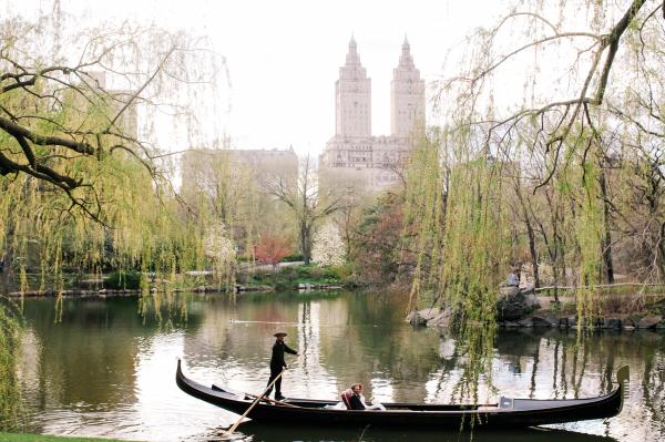 Gondola in Central Park