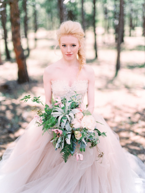 Gorgeous Mountain Bride