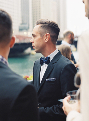 Groomsmen at Chicago Wedding