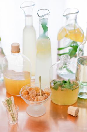 Lemon and Ginger Cocktails