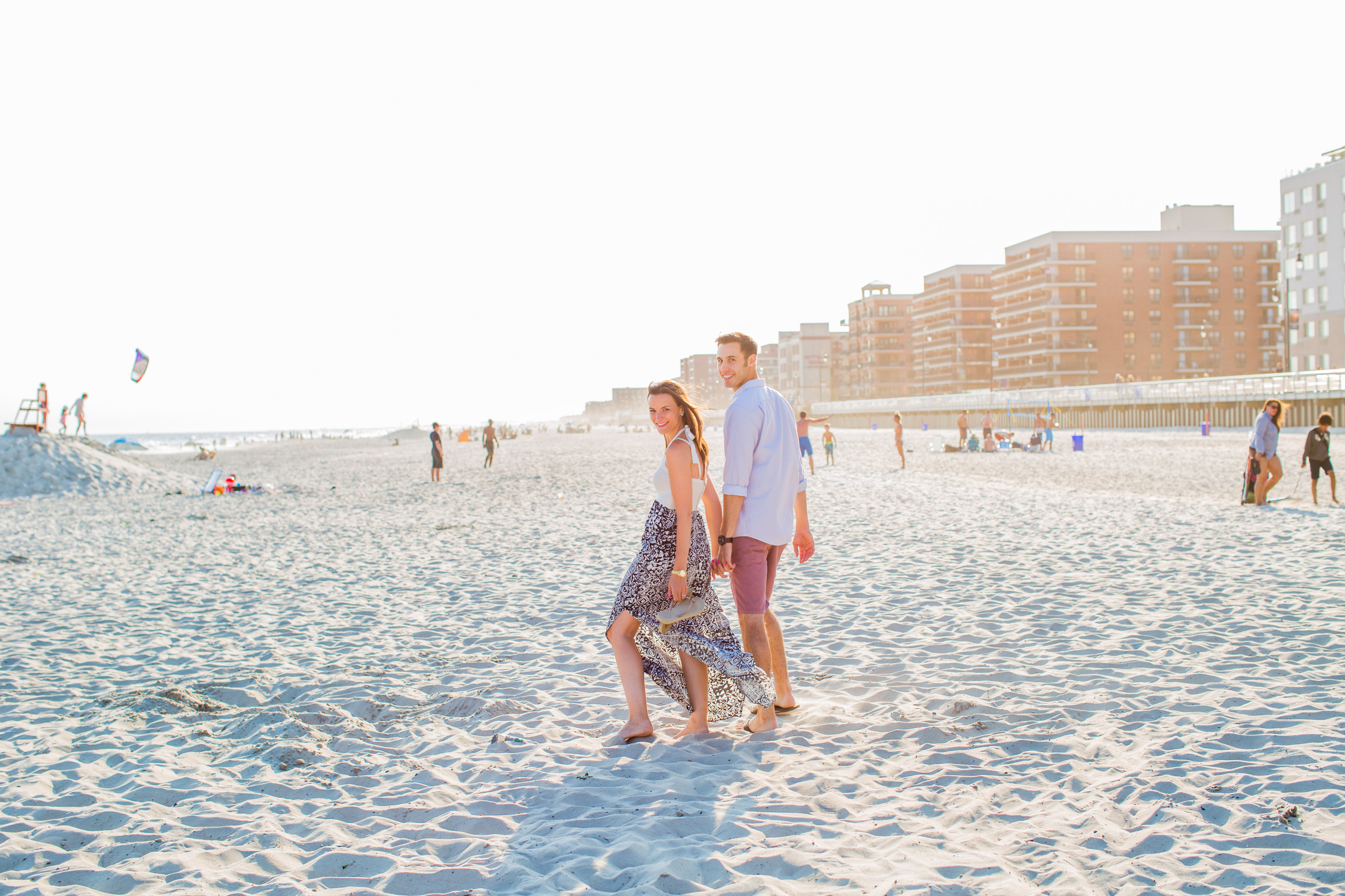 New york beach engagement session elizabeth anne designs for Beach weddings in ny