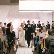 Modern Chicago Restaurant Wedding