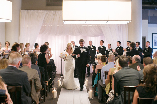 Modern Chicago Restaurant Wedding