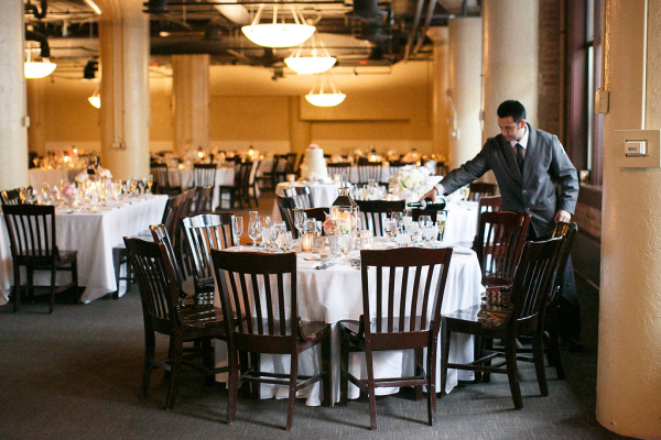 Modern Restaurant Wedding in Chicago