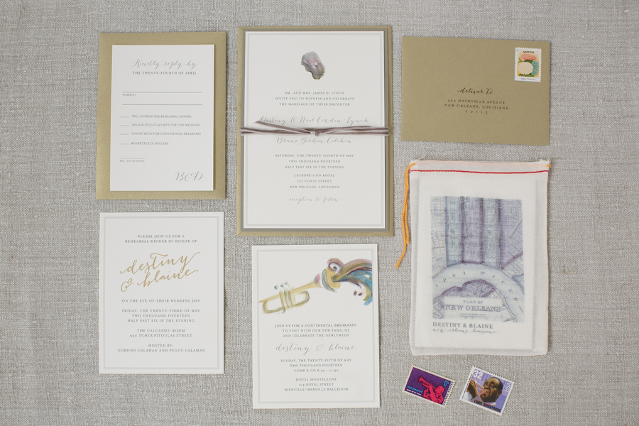 Wedding Invitations New Orleans: New Orleans Wedding Invitations