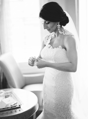 One Shoulder Ines Di Santo Gown