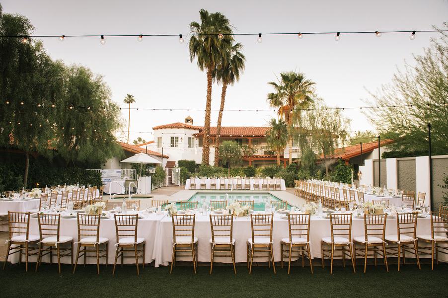 Palm Springs Wedding Reception