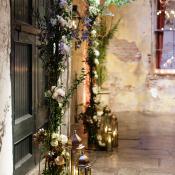 Rustic Tree Wedding Altar