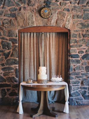 Rustic Wedding Dessert Table