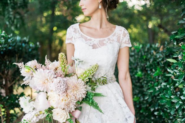 Stunning Blush Bridal Bouquet