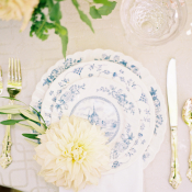 Toile Wedding China