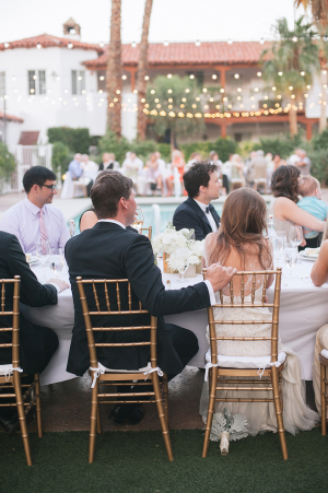 Wedding Reception Under String Lights 2