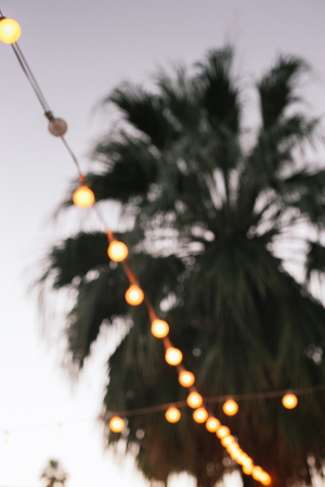 Wedding Reception Under String Lights 3