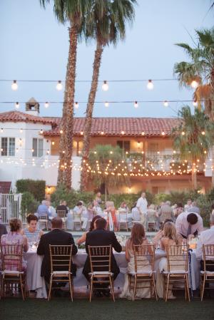 Wedding Reception Under String Lights 5