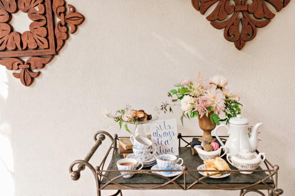 Wedding Tea Station