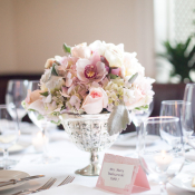 Blush Flower Centerpiece