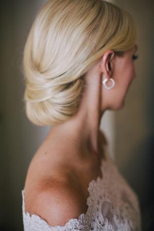 Bride Chignon
