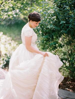 Bride in Augusta Jones