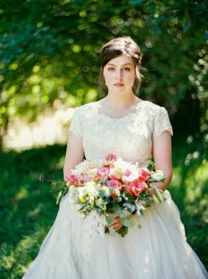 Bride in Beautiful Ballgown