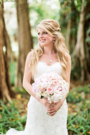 Bride in Maggie Sottero 1