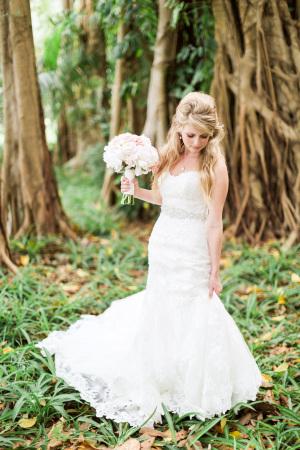 Bride in Maggie Sottero 2