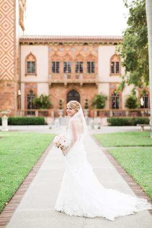 Bride in Maggie Sottero 6