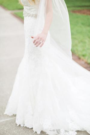 Bride in Maggie Sottero 7