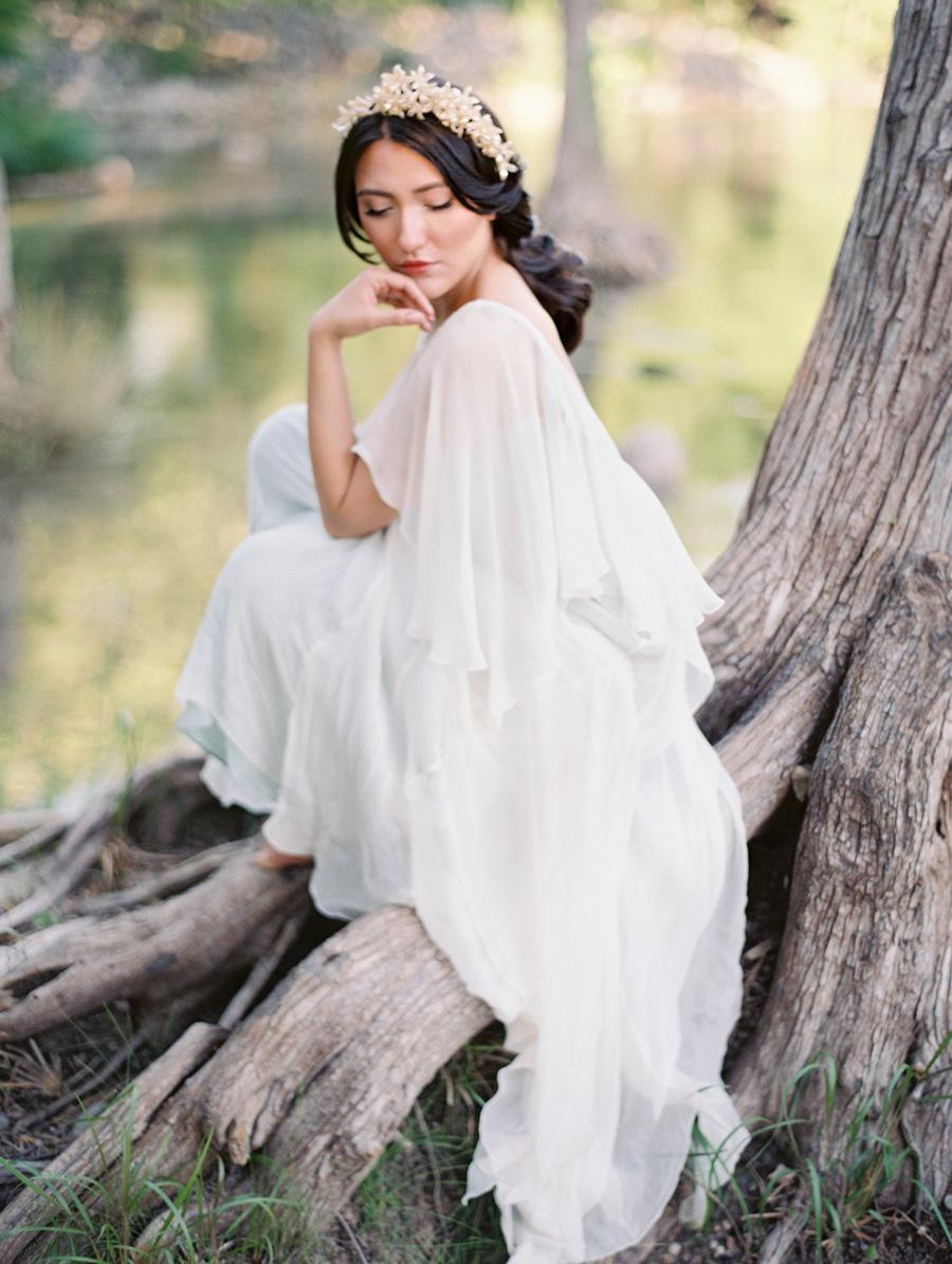 Bride in Shop Gossamer Gown - Elizabeth Anne Designs: The Wedding Blog