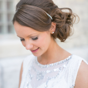 Bride with Side Updo