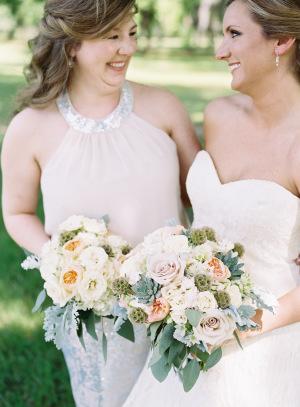 Bridesmaid in Blush