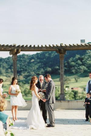 California Winery Wedding Danielle Poff 1