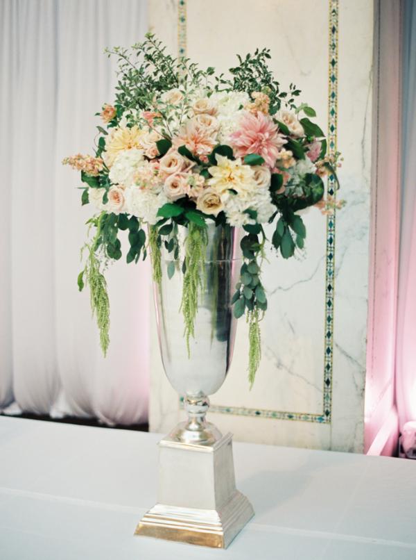 Elegant Pedestal Floral