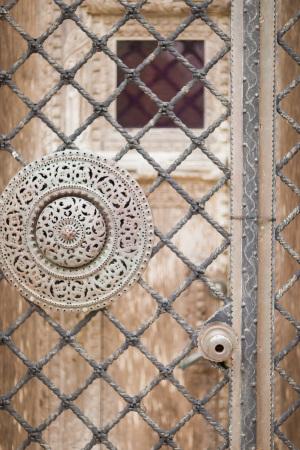 Gate at Ringling Mansion